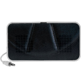 Black Wallet Clutch Leather Speakers