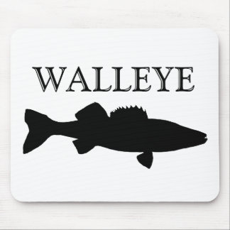 black Walleye Mouse Pad