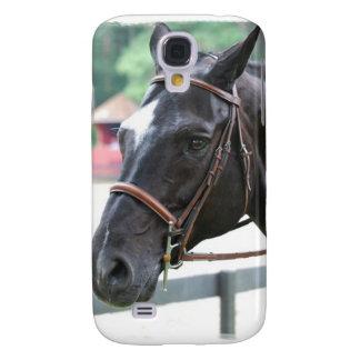 Black Warmblood  iPhone 3G Case Samsung Galaxy S4 Cover