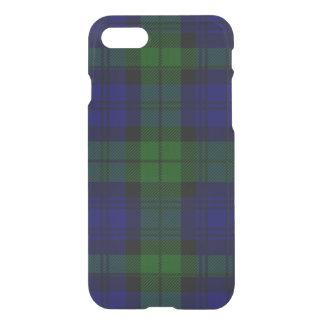 Black Watch clan tartan blue green plaid iPhone 7 Case