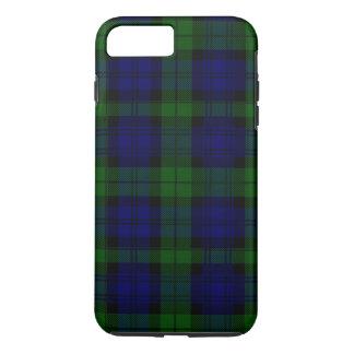 Black Watch clan tartan blue green plaid iPhone 7 Plus Case