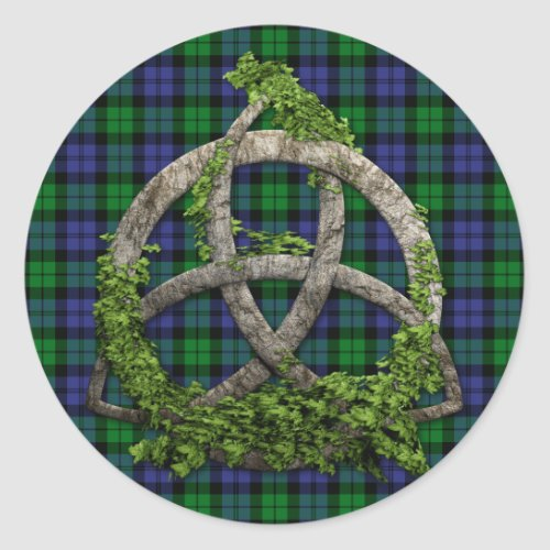 Black Watch Military Celtic Trinity Knot