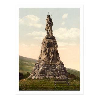 Black Watch Monument, Aberfeldy, Scotland Post Card