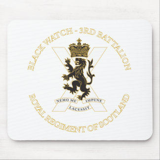 Black Watch Mouse Pad