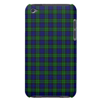 Black Watch or Campbell Tartan Plaid Pattern Barely There iPod Case