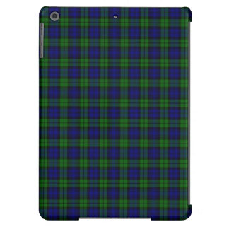Black Watch or Campbell Tartan Plaid Pattern iPad Air Cases
