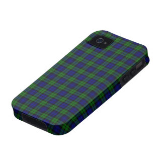 Black Watch or Campbell Tartan Plaid Pattern Vibe iPhone 4 Cover