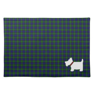 Black Watch or Campbell Tartan Plaid Placemats