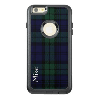 Black Watch Plaid Otterbox iPhone 6 Plus Case