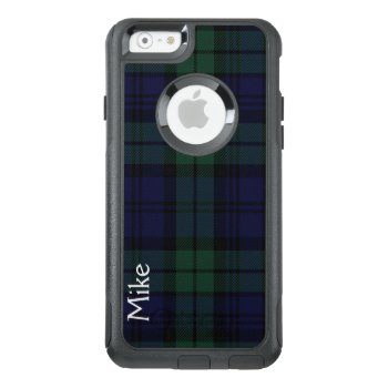 Black Watch Plaid Otterbox Iphone 6s Case by Everythingplaid at Zazzle