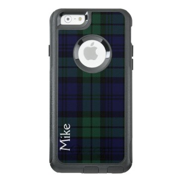 Black Watch Plaid Otterbox iPhone 6S Case