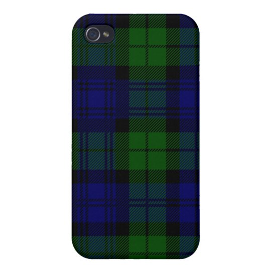 Black Watch Tartan  Case For iPhone 4