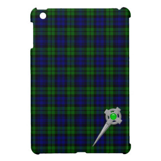 Black Watch Tartan & Celtic Knot Pin Case For The iPad Mini