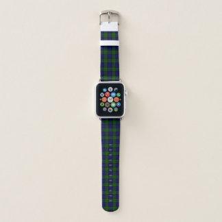 Black Watch Tartan Plaid Apple Watch Band