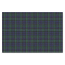 Black Watch Tartan Plaid Tissue Paper