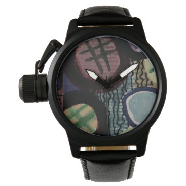 gwena2009 Black watch with modern design