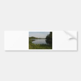 Black Water Lake Bumper Sticker