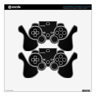 Black Weave Decal For PS3 Controller