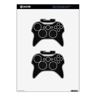 Black Weave Xbox 360 Controller Skins