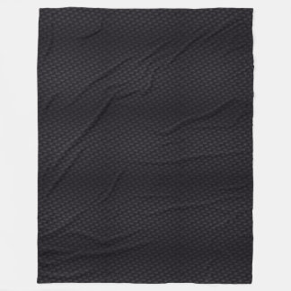 Black Weaver Fleece Blanket