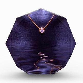 Black Wet Diamond Liquid Gold Necklace Award