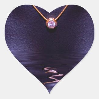 Black Wet Diamond Liquid Gold Necklace Stickers