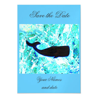 black whale blue Thunder_Cove Magnetic Card