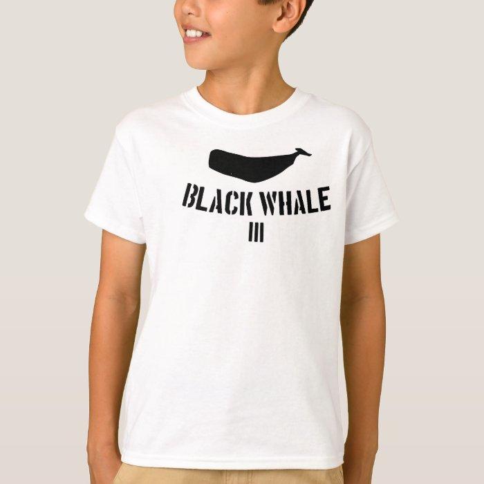 Black Whale III Tee For The Kiddos