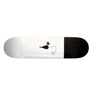 Black Whimsy Kitty 5 Skateboard Decks