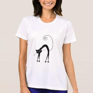 Black Whimsy Kitty 9 Shirt