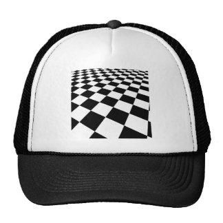 black-white-313324 black white checkered backgroun trucker hat
