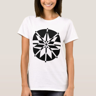 Black & White 7 Point Star T-Shirt