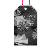 Black&White Abstract Gift Tags