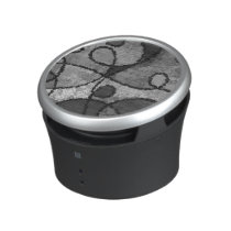 Black&White Abstract Pattern Bluetooth Speaker