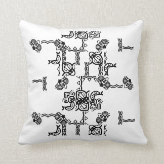 Black & White Abstract Pillows
