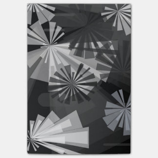 Black&White Abstract Post-it® Notes