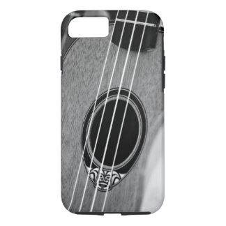 Black White Acoustic Classical Spanish Guitar iPhone 7 Case