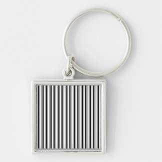 Black & White (Add 3rd Color) Key Chains