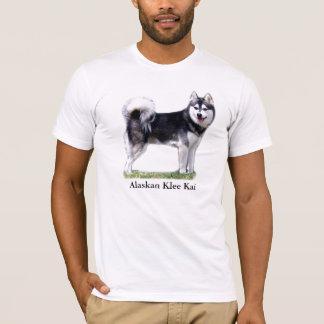 Black & White Alaskan Klee Kai T-Shirt