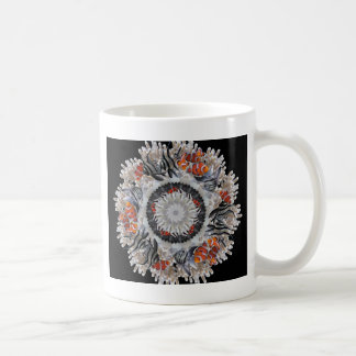 Black White and Clownfish Coffee Mug