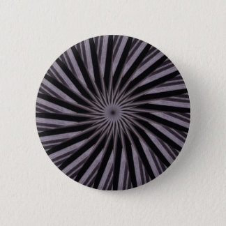 Black white and grey swirly template abstract art button