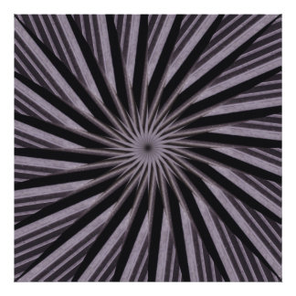 Black white and grey swirly template abstract art photo print