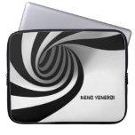 Black & White Art Vol 2 Laptop Computer Sleeve
