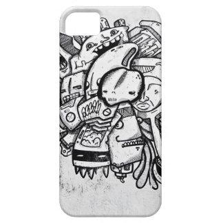 Black & White Aslan Miami Toon iPhone SE/5/5s Case