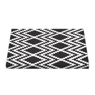 Black && White Aztec Print