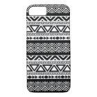 Black White Aztec Tribal Pattern 4 iPhone 7 case