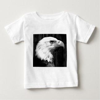 Black & White Bald Eagle Baby T-Shirt