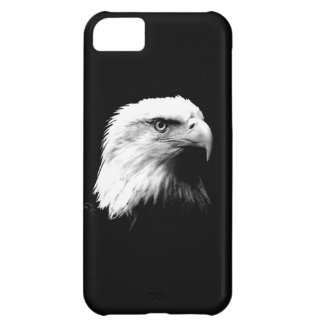 Black & White Bald Eagle Cover For iPhone 5C