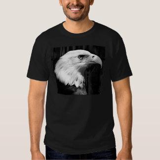 Black & White Bald Eagle T-Shirt