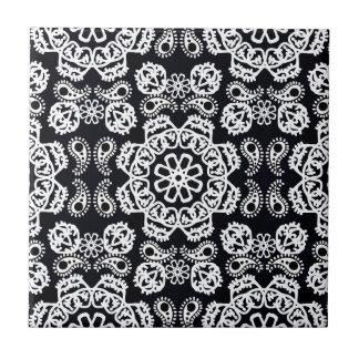 Black & White Bandana Tile